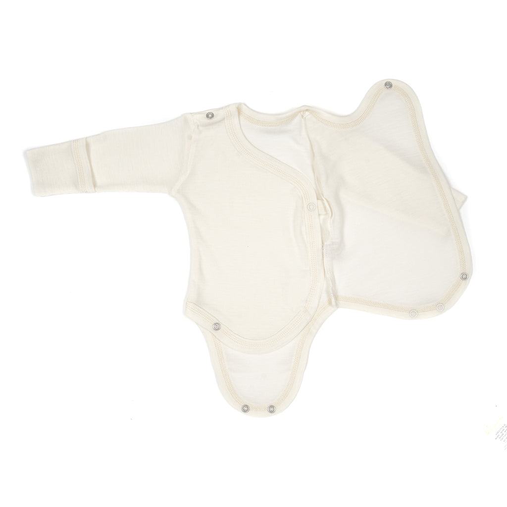 Merino wool & silk body 0-3m