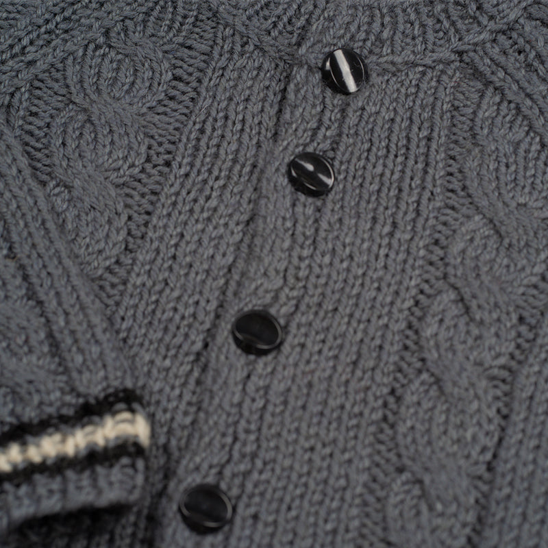 Woolen cardigan GREY