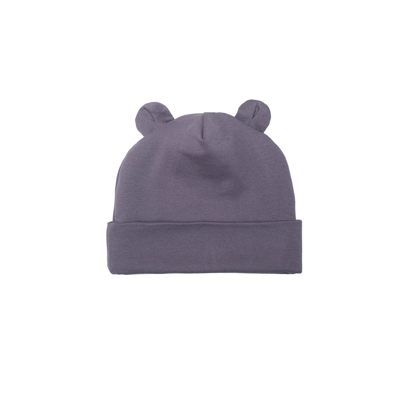 Beanie TEDDY EARS | dark grey