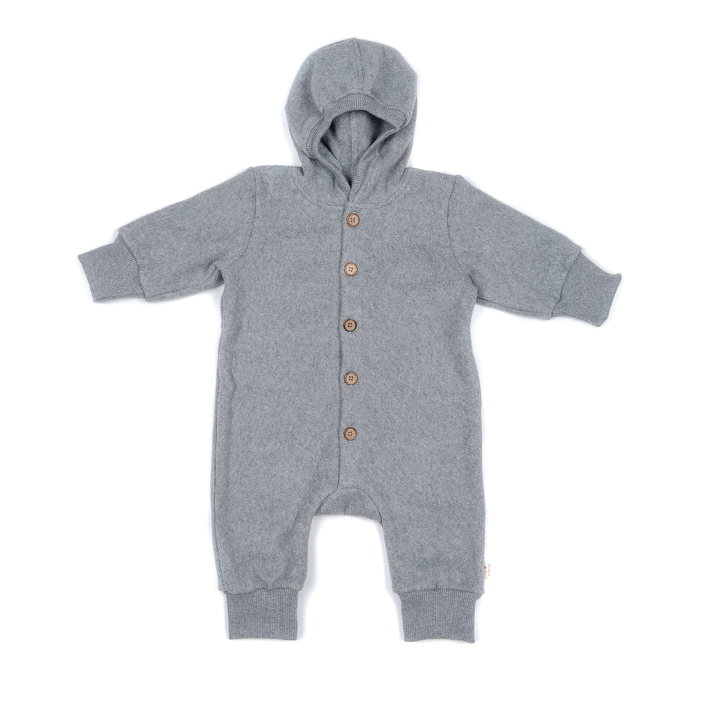 Fleece jumpsuit GREY