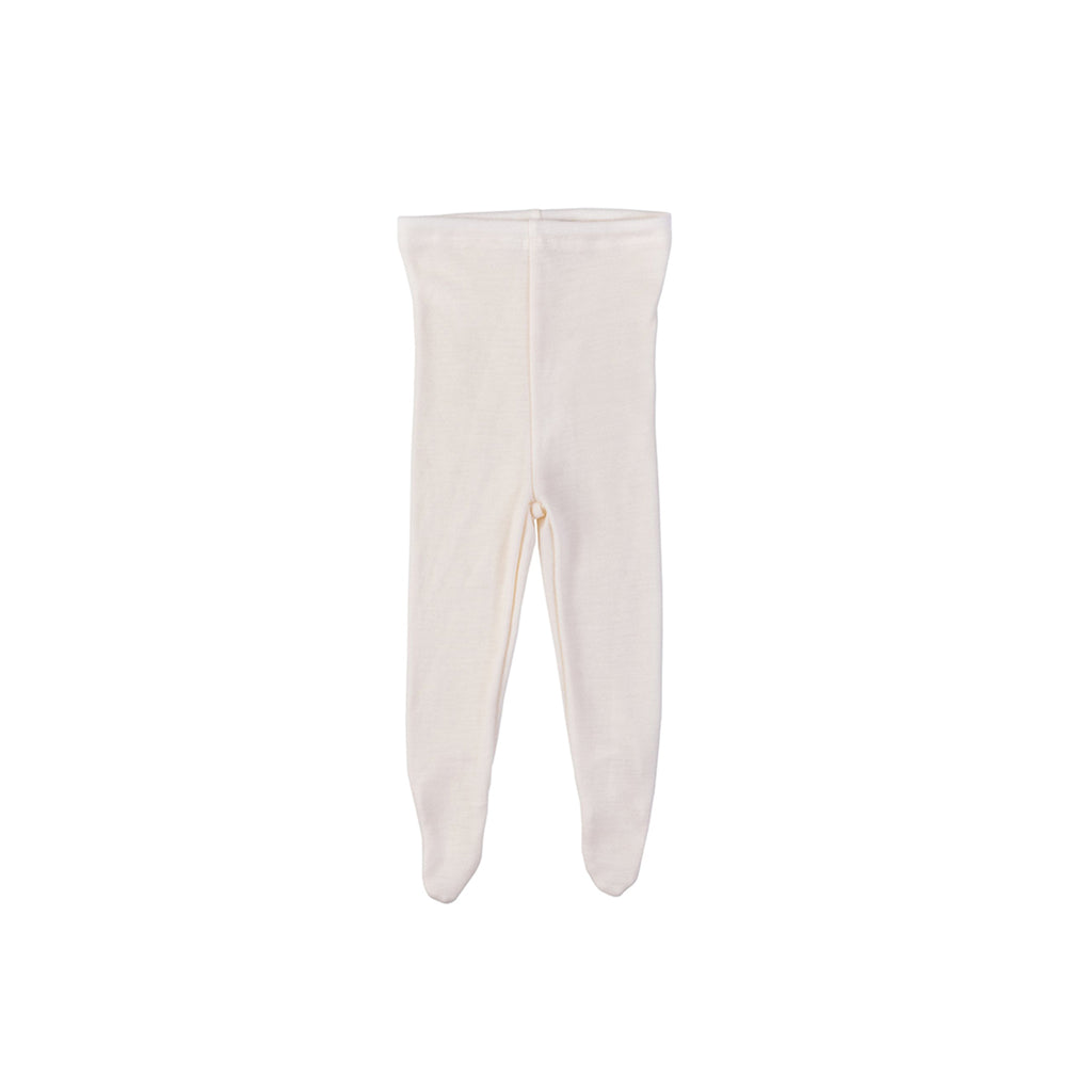 Merino wool pants ECRU
