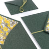 Vintage envelope YELLOW