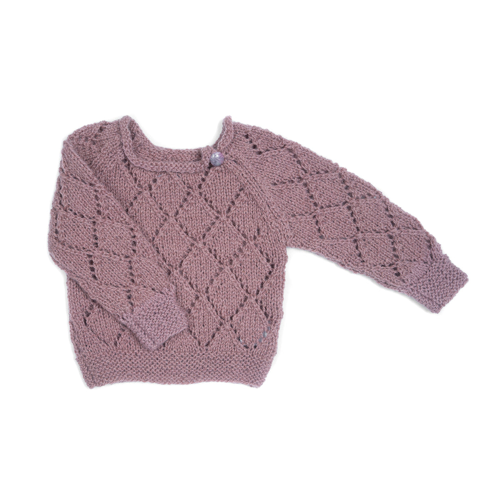 Wool jumper LILAC