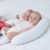 Nursing pillow with buckwheat hulls