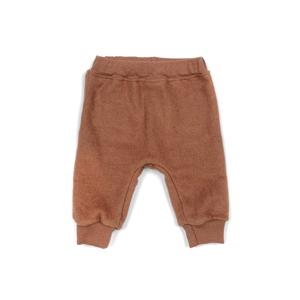Fleece pants COPPER