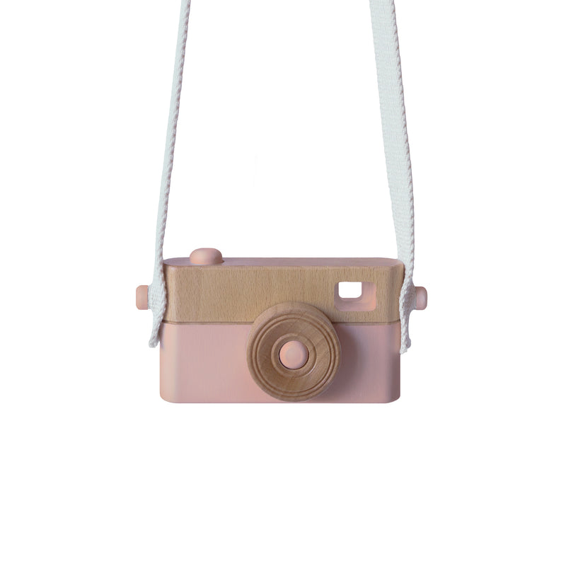Wooden camera PINK