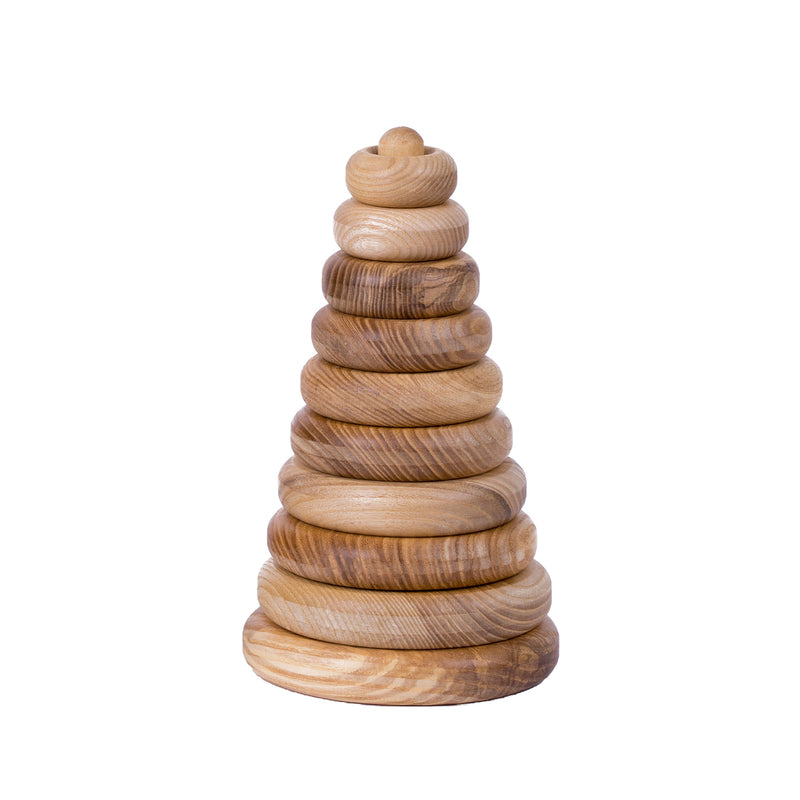 Wooden pyramid ROUND giant