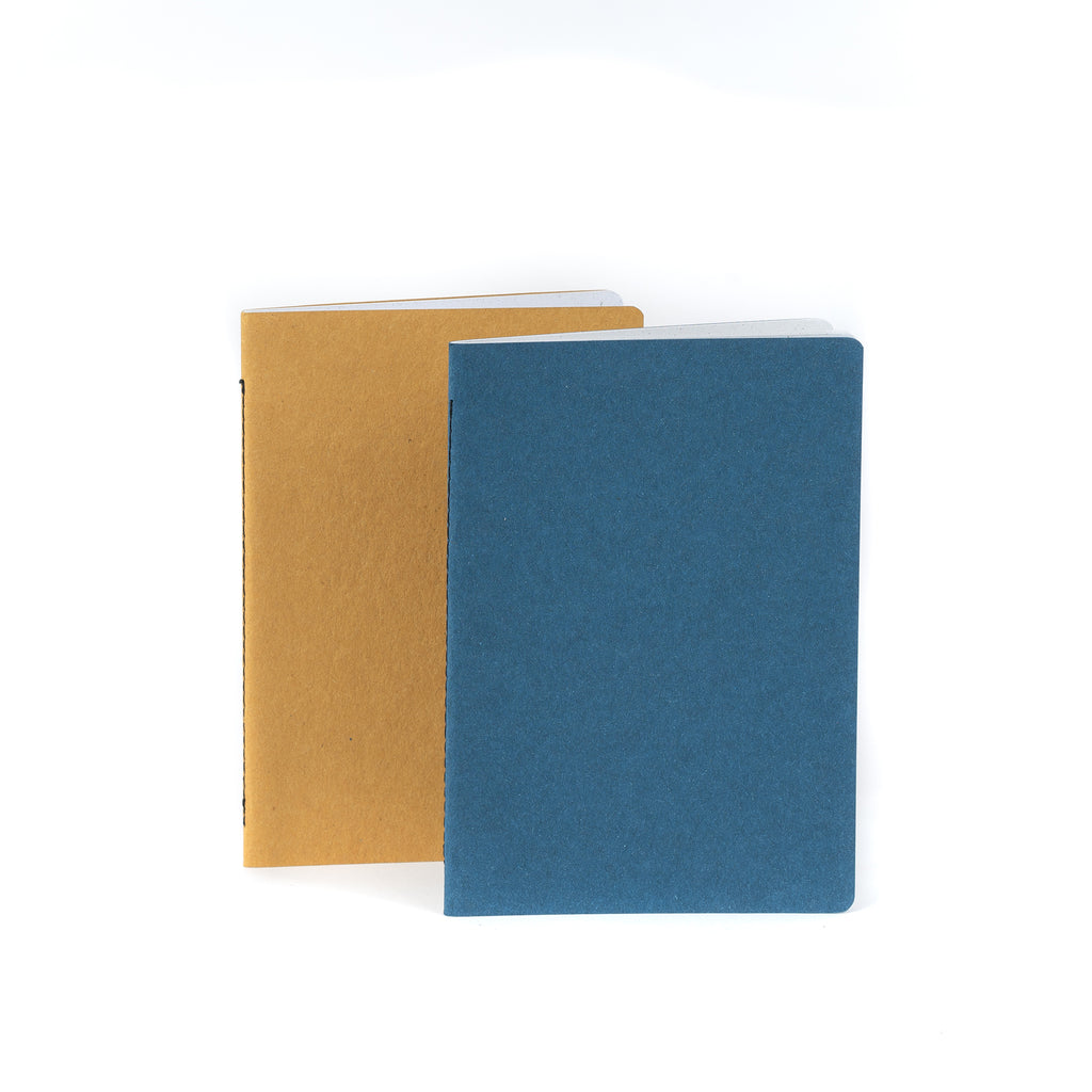 Recycled notebook set BLUE