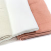 Muslin cloths 3-pack POWDER
