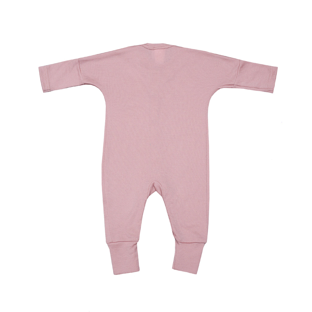 Wool sleepsuit PINK