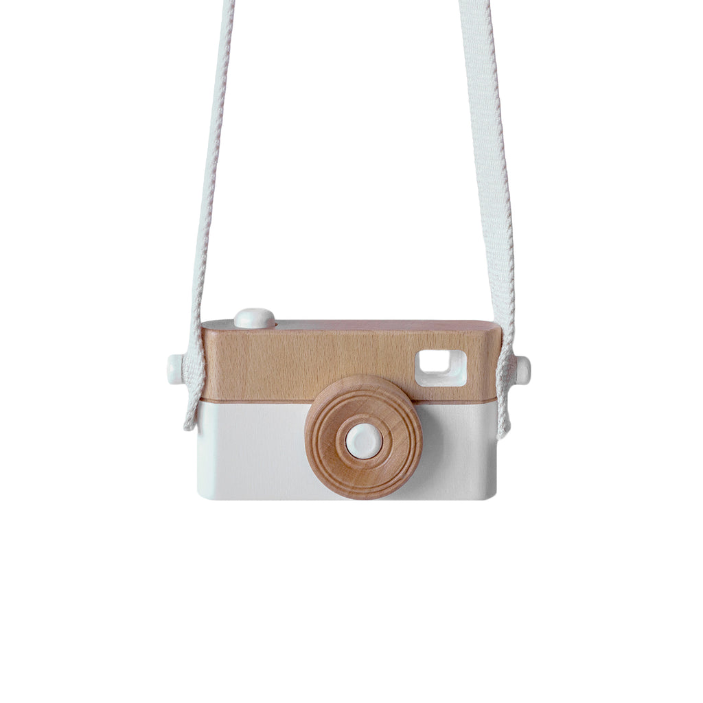 Wooden camera WHITE