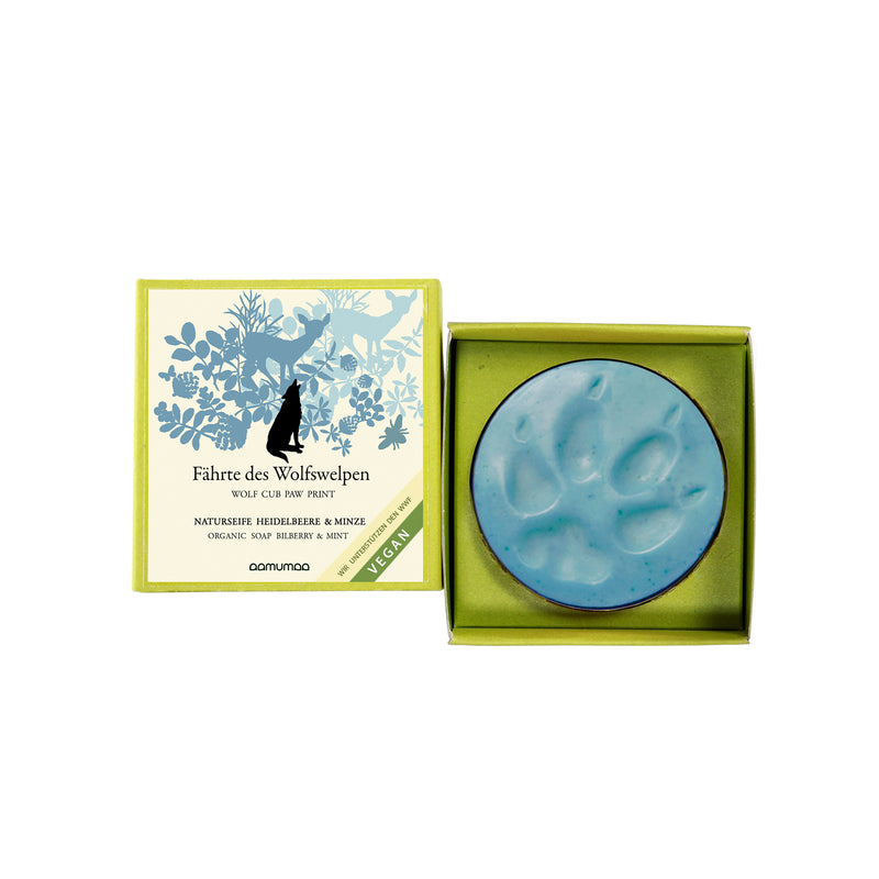 Bilberry & Mint soap WOLF