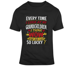 Grandchildren Are Wow T Shirt - Texas Country Gifts