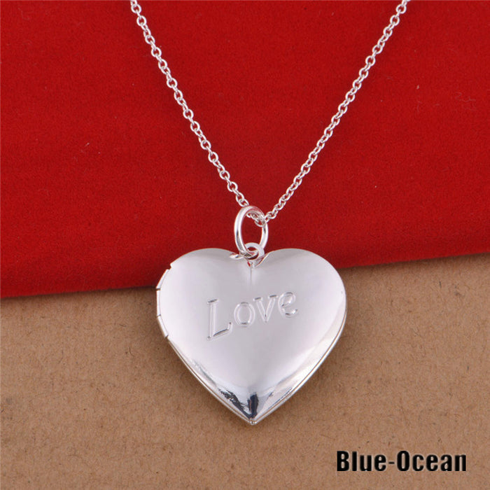 50 off sale women s bijoux love you sterling silver heart locket