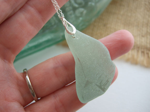 coca cola vanuatu sea glass necklace