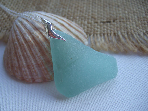 vanuatu coca cola sea glass pendant sea foam