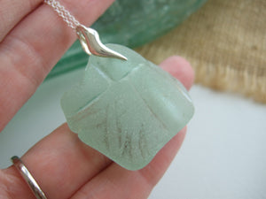coca cola sea glass necklace from south pacific