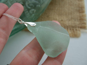 coca cola sout pacific sea glass pendant large
