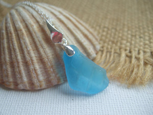 turquoise sea glass necklace scottish