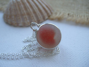 red cats eye sea glass marble