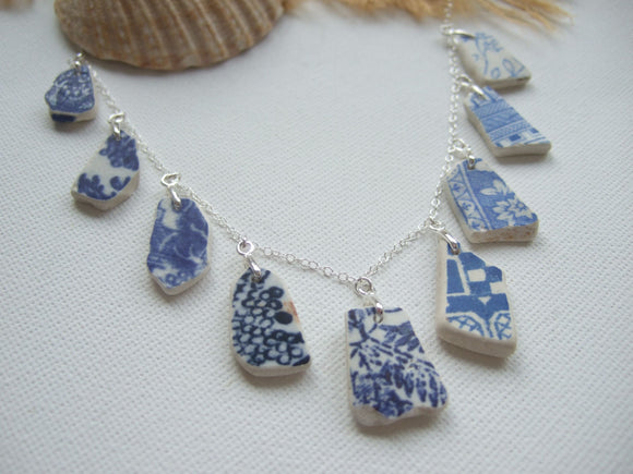 scottish sea pottery necklace