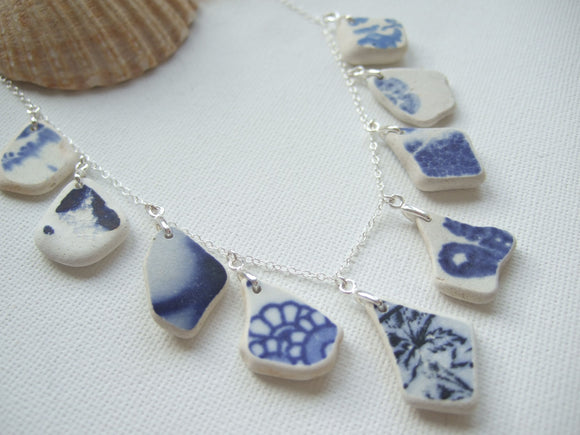 beach china necklace from scotland