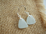 Tear Drops - Sea foam sea glass