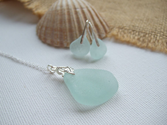 Scottish and Seaham - Seafoam Jewellery Set Floral