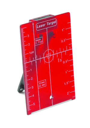 Red Magnetic Target Plate