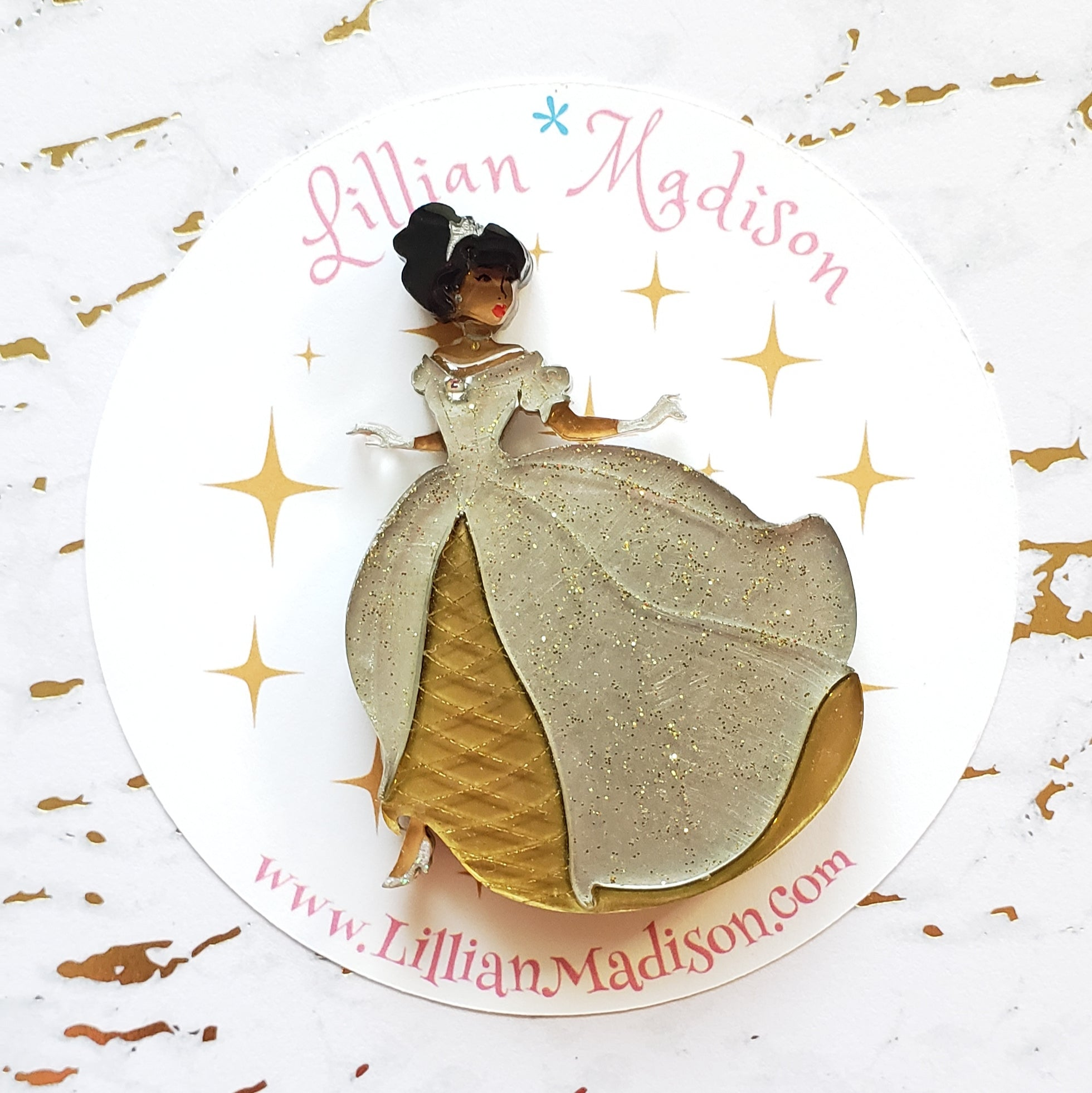 Seconds Cinderella Brooch C