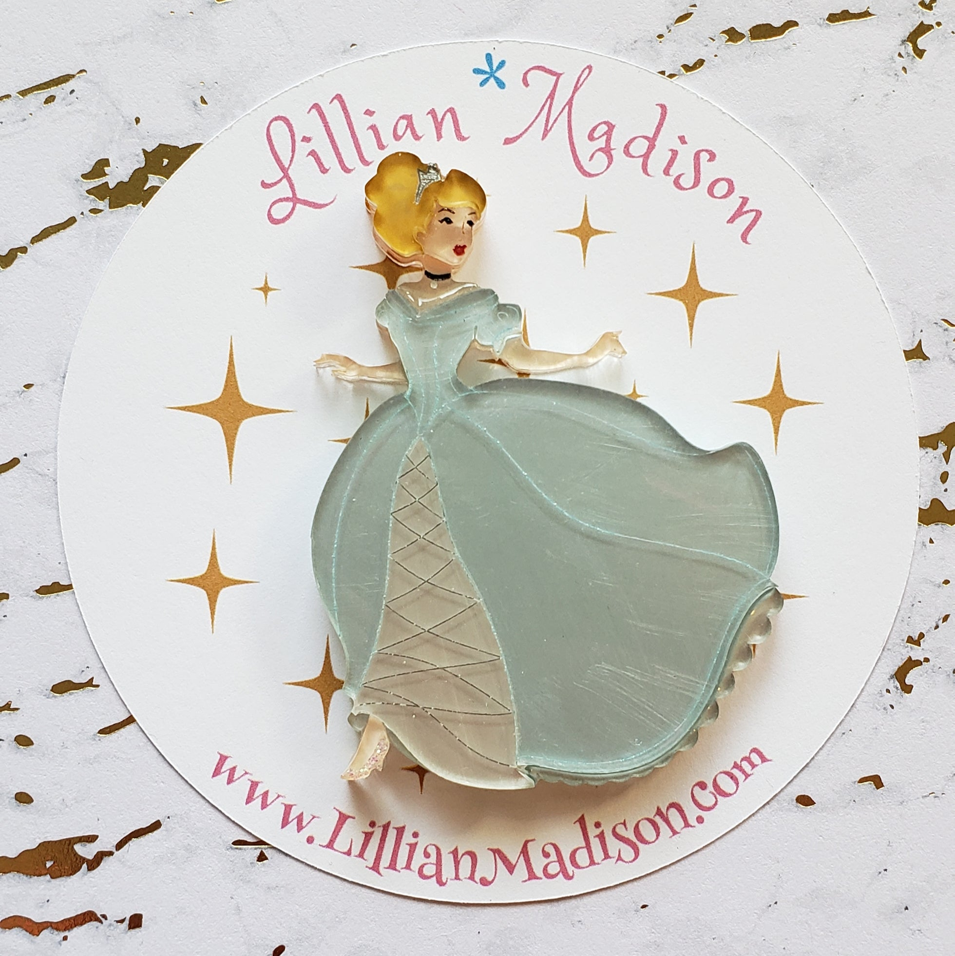 Seconds Cinderella Brooch A