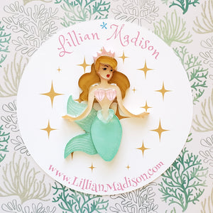 Marina the Mermaid Brooch PRE ORDER
