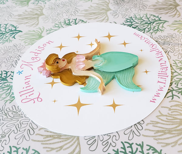 Marina the Mermaid Brooch