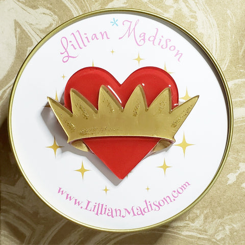 Kiss of True Love Brooch