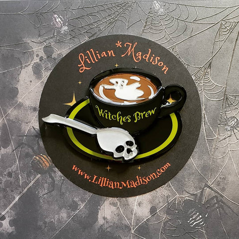 Witches Brew Brooch