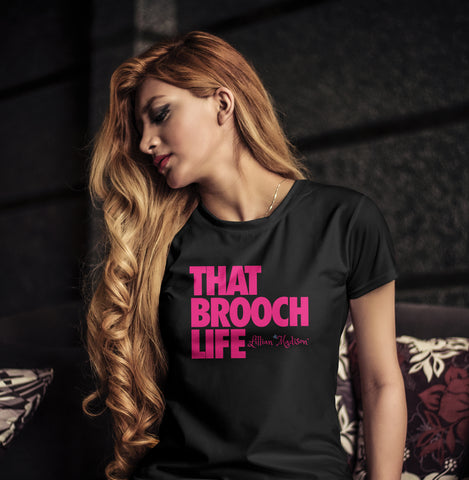 That Brooch Life Shirt in Black
