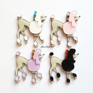 Perfect Poodle Brooch