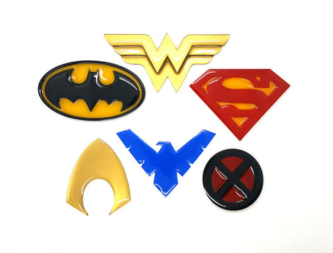 Super Hero Brooch