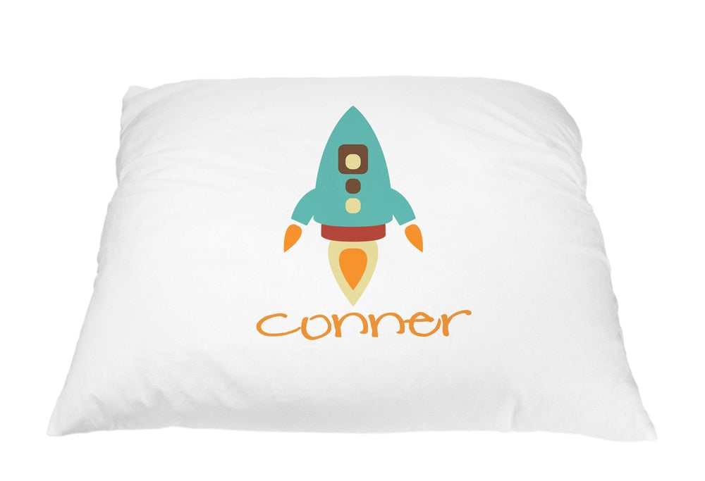 Rocket Pillow Case