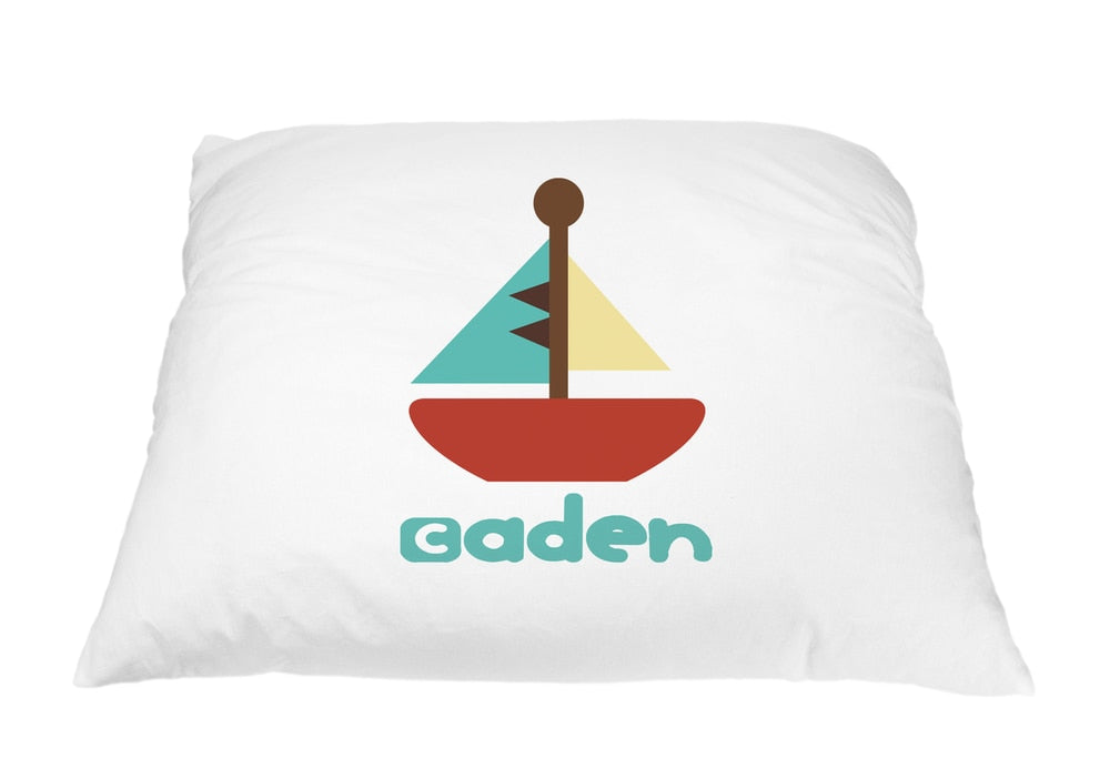 Boat Pillow Case