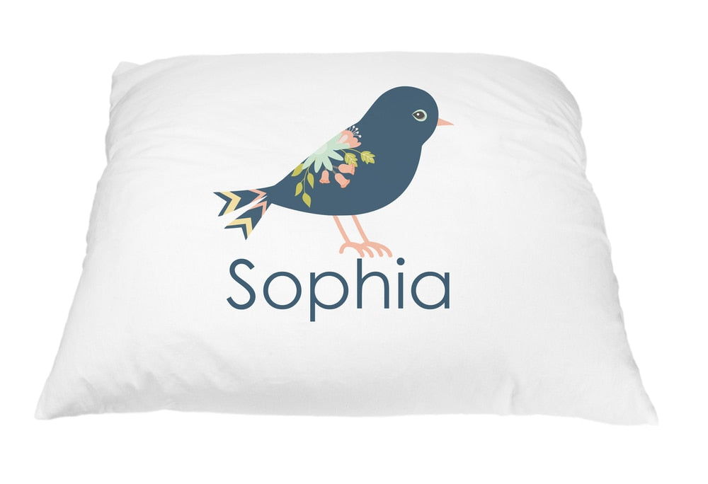 Royal Bird Pillow Case