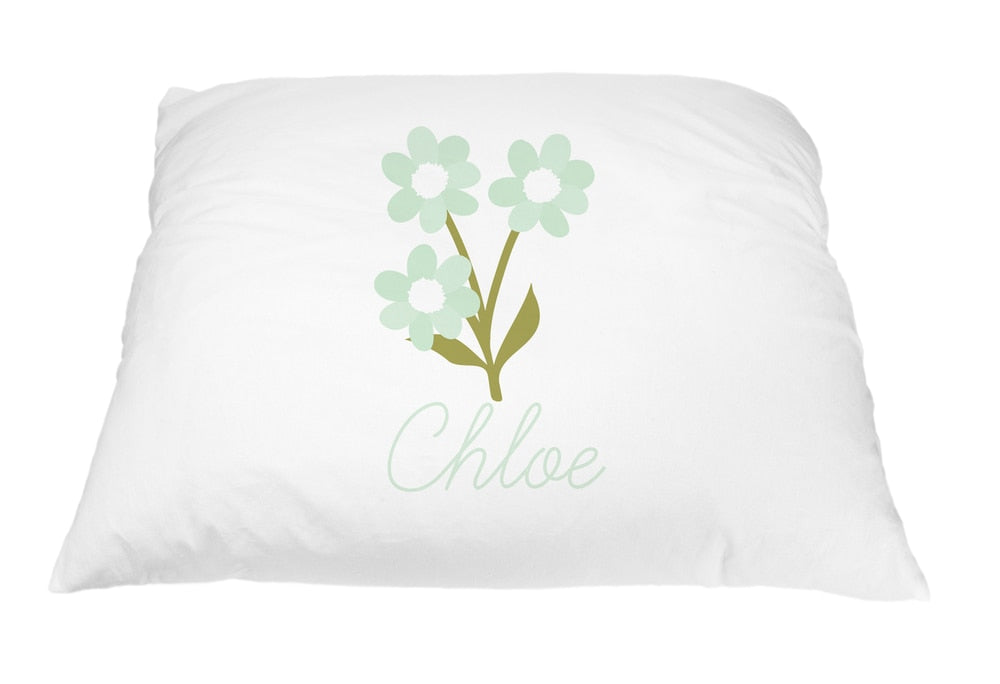 Flower Trio Pillow Case