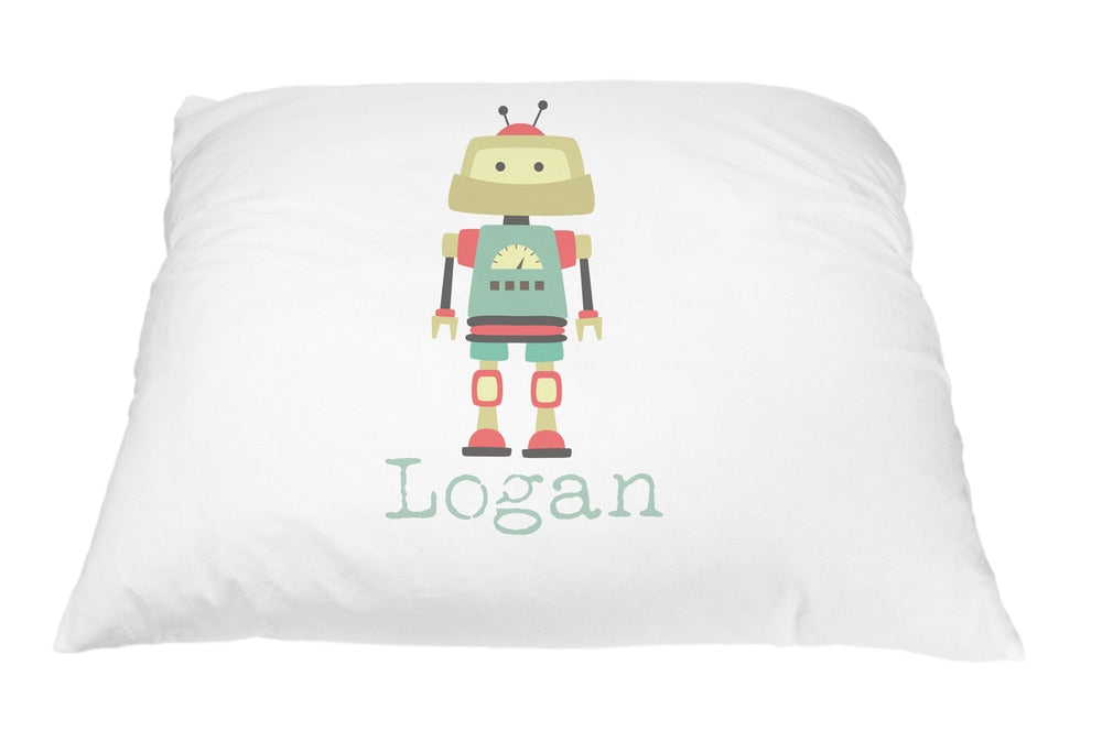 Robot Logan Pillow Case