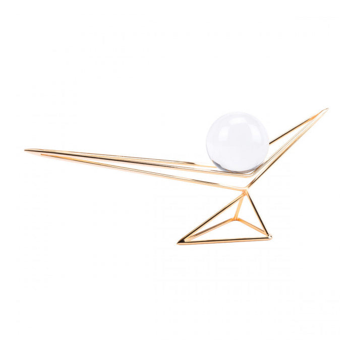 Origami Orb Gold