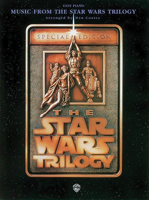 MUSIC FROM THE STAR WARS TRILOGY EASY PIANO