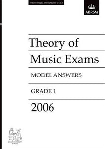 A B THEORY OF MUSIC ANSWERS GR 1 2006