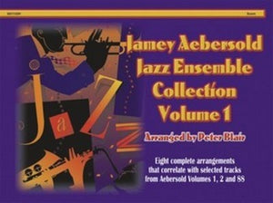AEBERSOLD JAZZ ENSEMBLE VOL 1 SCORE WITH CD