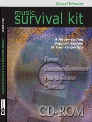 MUSIC SURVIVAL KIT CHORAL DIRECTOR CDR
