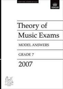 A B THEORY OF MUSIC ANSWERS GR 7 2007