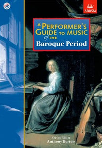 PERFORMERS GUIDE BAROQUE PERIOD BK/CD